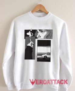 Comic Nu Goth Unisex Sweatshirts