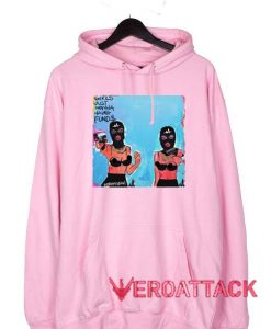 Girls Just Wanna Have Fund$ Light Pink color Hoodies