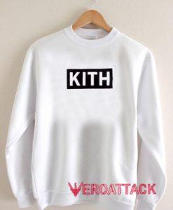 KITH Box Logo Unisex Sweatshirts