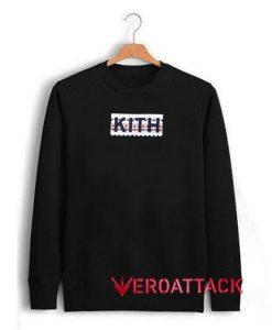 Kith Box Logo Geo Unisex Sweatshirts