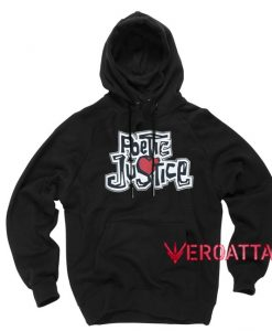 Poetic Justice Vintage Black color Hoodies