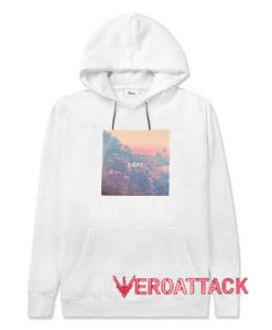Soft Aesthetic White color Hoodies