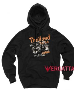 Thailand Tuk Tuk Black color Hoodies