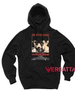 The Buttertones Midnight in a moonless dream Black color Hoodies