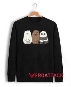 We Bare Bears Unisex Sweatshirts
