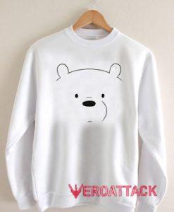We Bare Bears Ice Bear Unisex Sweatshirts