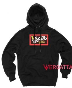 Willy Wonka Bar Black color Hoodies