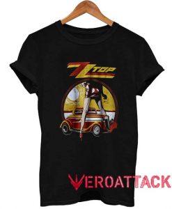 Zz Top Vintaged Legs Rock T Shirt