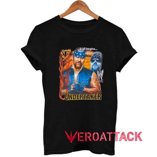 Vintage WWE The Undertaker T Shirt