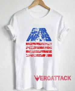 Star Wars Retro July 4th T Shirt